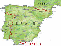 Marbella Map Of Spain.Spanishcourse In Marbella Spain Sioc International Language